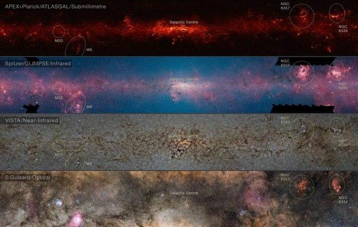 atlasgal evren görüntüleri