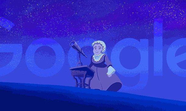 caroline herschel kadın astronom
