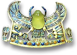 King-Tut-silica-glass-amulet