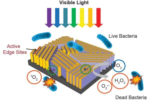 güneş ile mikrop öldürme