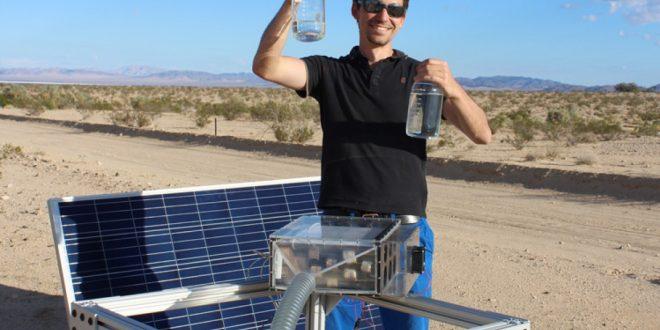 Yeni Cihazla Çölde Bile Havadan Su Elde Edebilirsiniz
