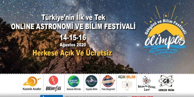 Olimpos Gökyüzü ve Bilim Festivali Bu Yıl Online Yapılacak
